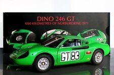FERRARI 246 GT #83 1000 KM NURBURGRING 1971 HOTWHEELS ELITE T6260 1/18 MATTEL