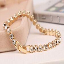 1 Pc Newest Women Shiny Silver Bracelets Charm Austria Crystal Cuff Bangles Fash