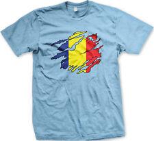 Romanian Flag Colors Romania Ripped Torn Shirt Heritage Team ROU Men's T-Shirt