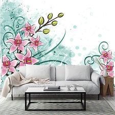 3D Jasmin 3575 Photo Papier Peint en Autocollant Murale Plafond Chambre Art