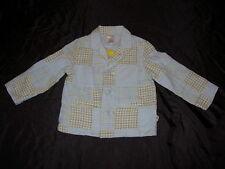 NWT boys Gymboree GARDEN PARTY patchwork blazer jacket sports coat 12 18 months