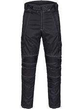Limitless Herren Motorrad Kombi Hose Cordura Textil Schwarz Gr. M bis 4XL  782