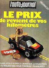 L'auto Journal 1 -15 janvier 1982