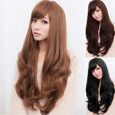 2018 Wig Natural Curly Straight Wavy Fancy Dress Fashion Hai Womens Ladies Z5T