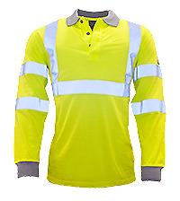 Modaflame Hi-Vis Polo Shirt - FR77
