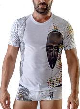 Geronimo T-shirt uomo bianco girocollo manica corta uomo maglia