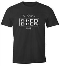 Evolution bière Buveur De Bière Funshirt Culte T-shirt noir 100/% coton s-5xl