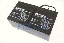 2 PACK 12 volt 4.5 amp hour 12V 4.5ah Sealed Lead Acid Battery Razor E100 V BA12