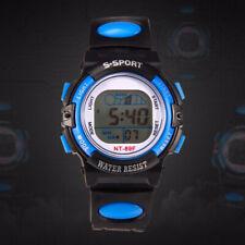 KF_Multi-functional Children Sports Luminous LED Digital Date Alarm Wrist Watch