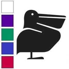 Shoebill Pelican Bird Decal Sticker Choose Color + Size #516
