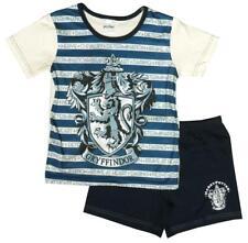 Pijamas De Niña Oficial Harry Potter Gryffindor Rayas Culotte pj's 5A 12 años