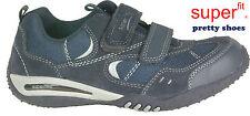 SUPERFIT Schuhe Burschenschuhe blau echt Leder Klettverschluss NEU