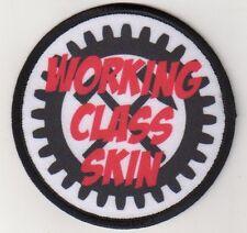 "WORKING CLASS SKIN""Aufnäher""Oi!/PUNK/SKIN/WAY OF LIFE/PATCH/Oi!/SKA/SPIRIT OF 69"