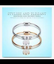 crystal bracelet rose gold silver birthday Christmas valentines mum sister 375