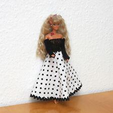 wunderschöne handgearbeitete Puppenkleidung für Barbie, Abendkleid NEU
