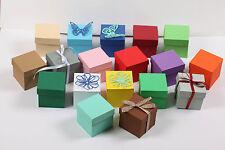 10 Geschenkschachtel Gastgeschenk Hochzeit Taufe Karton Geschenkbox Box Giveaway