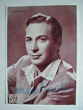 Rimoldi Adriano (La Spezia 1912 - Roma 1965). Attore. Firma su sua fotocartolina
