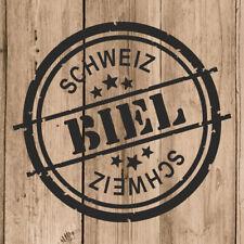 Biel Aufkleber 10 cm Autoaufkleber Biel Schweiz Auto Moto Wandtattoo
