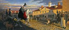John Buxton HE RETURNS VICTORIOUS-1783, George Washington, giclee canvas, #74/75