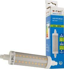 LAMPADA LAMPADINA LED V-TAC R7S 10W 1000 LM CALDA NATURALE FREDDA VTAC VT-1990