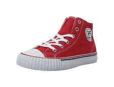 PF Flyers Kids Shoe Center Hi KC2001RD - Red/White