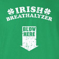 St Patrick's Day Irish Breathalyzer Funny Saint rude drinking humor T-Shirt