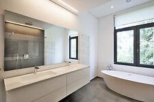 Badspiegel,Kante zuschnitt 4-mm Spiegel nach Wunschmaß Wandspigel
