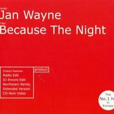 Wayne, Jan : Because the Night CD