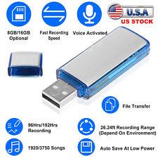 Mini Voice Recorder Digital Sound Audio Recorder Usb Flash Drive Disk U Disk