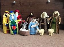 Hand Knitted Christmas Nativity Set - Jean Greenhowe