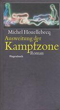 MICHEL HOUELLEBECQ - AUSWEITUNG DER KAMPFZONE - ROMAN - EDITION EN ALLEMAND
