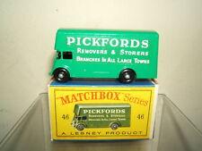 "MATCHBOX  LESNEY  MODEL No.46b ""PICKFORDS "" REMOVAL VAN   MIB"