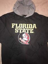 Florida State Seminoles Black Pullover Hoodie SweatShirt - College