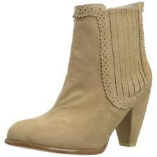 Plomo Emilia Women's Beige Ankle Boots