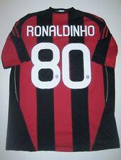 2010-2011 Adidas AC Milan Ronaldinho Kit Shirt Home Jersey Calcio Maglia Brazil