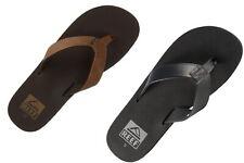 Reef Twinpin RF002915 Black & Brown Men's FlipFlop 7 8 9 10 11 12 13
