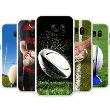 Equipo De Kit De Bola Rugby Copa del Mundo Snap-On estuche rígido cubierta teléfono para teléfonos Samsung