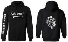 hooded BLACK hoodie FASHION tattoo CHRISTIAN jesus EPHESIANS sleeve BIBLE truth