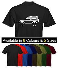 Velocitee Mens Premium T-Shirt Land Rover Defender 90 Colour Options UK Seller