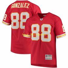 TONY GONZALEZ Kansas City CHIEFS MITCHELL & NESS Throwback PREMIER Jersey S-2XL