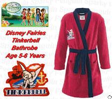 Authentique Disney Fairies Tinkerbell Peignoir âge filles 5-6 ans