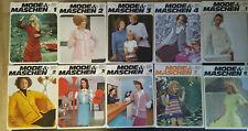 Mode & Maschen - Zeitschrift für Knittax Strickmaschinen 70er Jahre