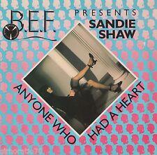 SANDIE SHAW  Anyone Who Had A Heart 1982 U.K 45