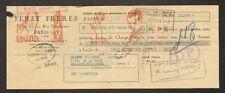 """PARIS (XVII°) PRODUITS COSMETIQUE pour CHEVEU Coiffeur """"FERET Freres"""" 1950"""