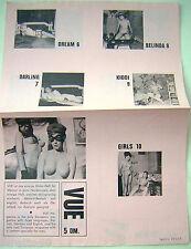 vecchia pubblicità di film 8 mm akt farb color - sexy erotismo