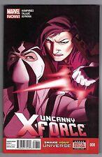 UNCANNY X-FORCE #8 - ADRIAN ALPHONA ART - KRIS ANKA COVER - MARVEL NOW - 2013