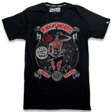 LCR brand King of Swords rythm Skull retro caballero t-shirt rockabilly
