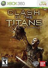 Clash of the Titans: The Videogame (Microsoft Xbox 360, 2010) GOOD