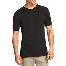 Bonds V-Neck Raglan T-Shirt M976 Black