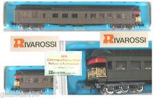 RIVAROSSI 9696 OBSERVATION-CAR UNLETTERED OVP SCALA-N